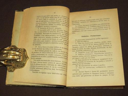 nociones tactica elemental y aplicada méxico 1898 militar