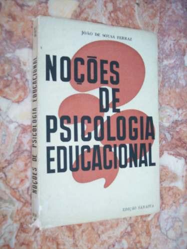 noções de psicologia educacional, joão de sousa ferraz