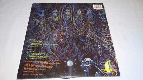 nocturnus - the key '90 (earache mosh 23)(vinilo:ex - cover: