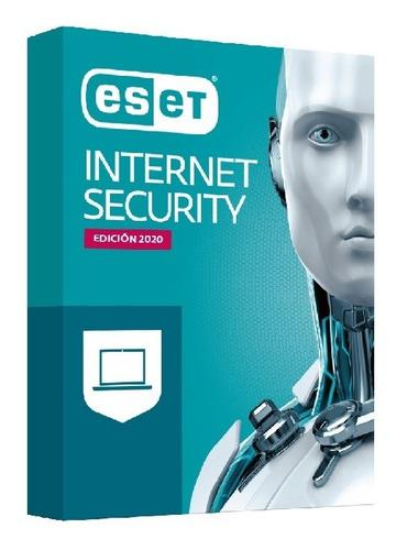 nod32 antivirus eset internet security 13 2020 - 1 pc 1 año