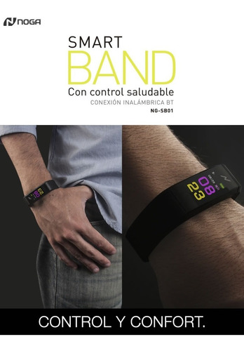 noga smart band con control saludable ng-sb01