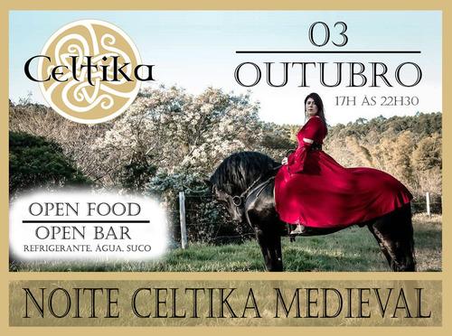 noite celtika medieval - festa open food