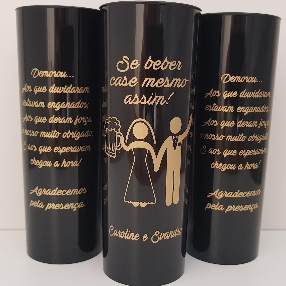 22cbf5a00 noivado casamento 100 copos long drink personalizados. Carregando zoom.