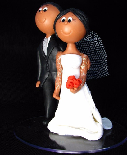 noivinhos topo de bolo casamento
