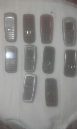 nokia 10 telefonos clasicos basicos libres 100% funcionales