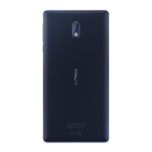 nokia 3 android lte pant. 5 hd 16+2ram 8+8mpx azul