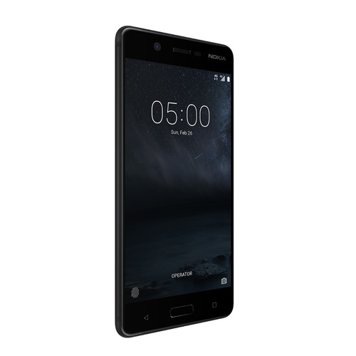 nokia 5 android lte pant. 5.2 hd 16+2ram 13+8mpx negro