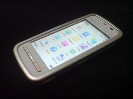 nokia 5230 smartphone original t0k.touth 2mpx( azul ou rosa)