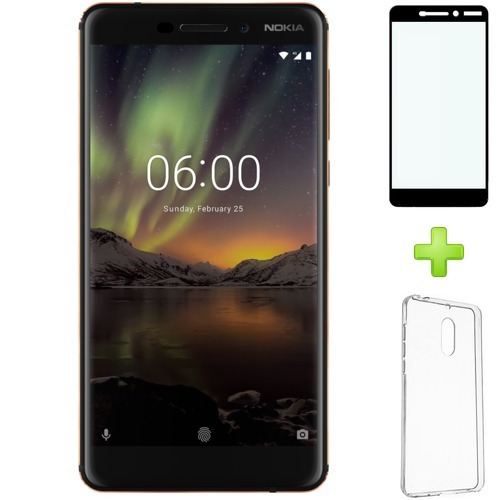 nokia 6 6.1 2018 64gb 4gb ram android one 8.1 oreo doble sim
