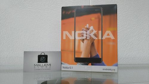 nokia 6.1 2018 android one 4g libre garantía stock ya!