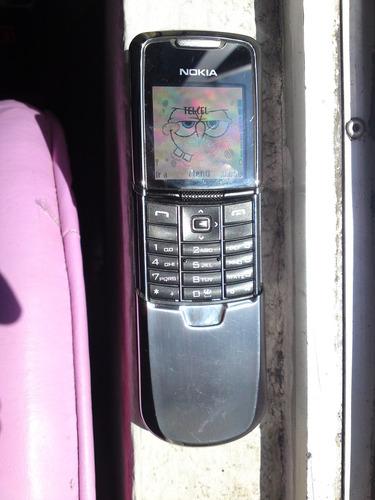 nokia 8801 scirocco en muy buen estado gsm telcel