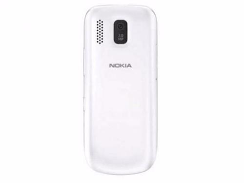 nokia asha 202 branco 2 chips 2mpx rádio fm mp3 tela 2,4''