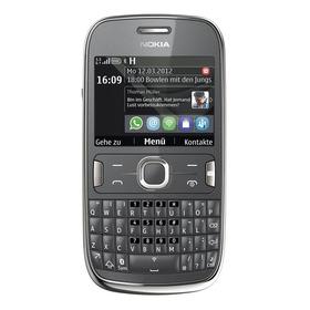 Nokia Asha 302 256 Mb Dark Gray 128 Mb Ram