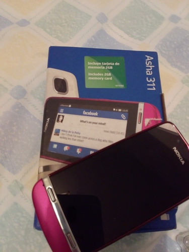 nokia asha 311 teléfono celular