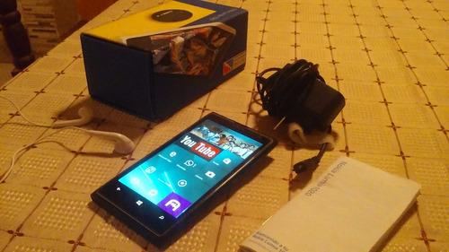 nokia lumia 1020 liberado,en caja con accesorios poco uso!