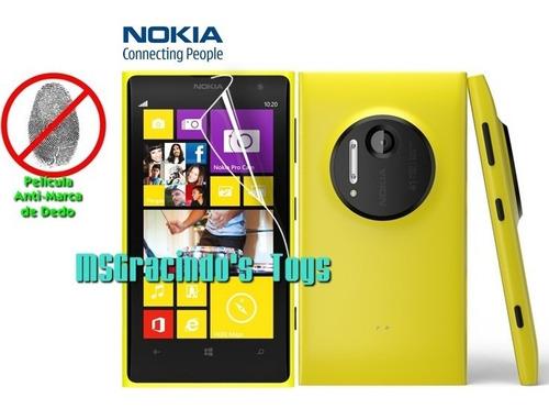 nokia lumia 1020 película protetora tela anti-marca de dedo