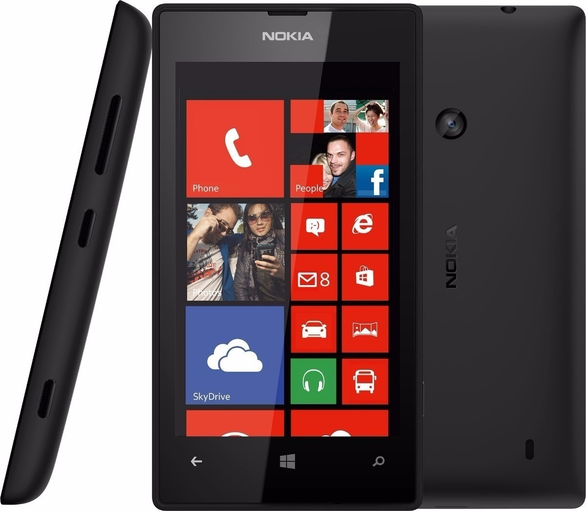 b95c83e486572 Nokia Lumia 520 8gb Original Câm 5mp 3g Wi-fi Windows Phone - R  349 ...