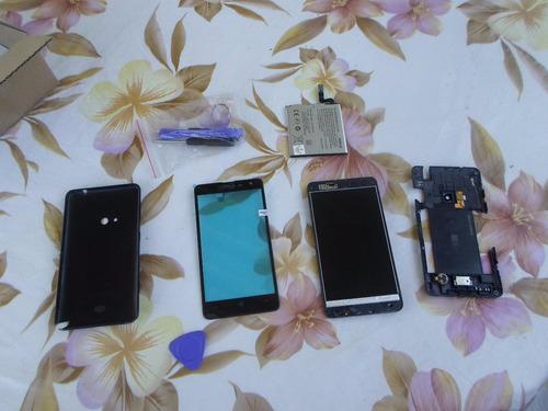 nokia lumia 625 - peças - touch nova - bateria nova