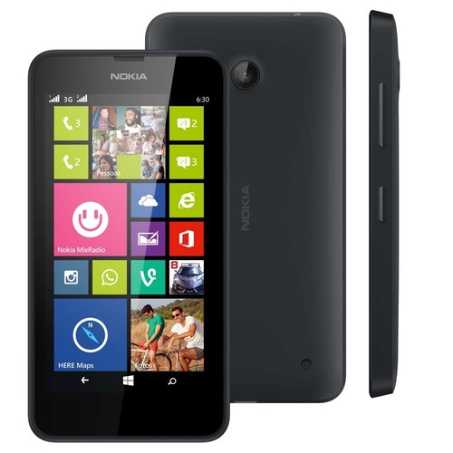 nokia lumia 630 2 chips windows ph8 quad marca uso tela 4,5'