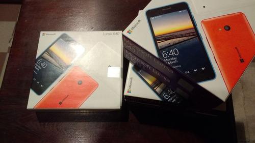 nokia lumia 640 4g libre de fabrica para movistar