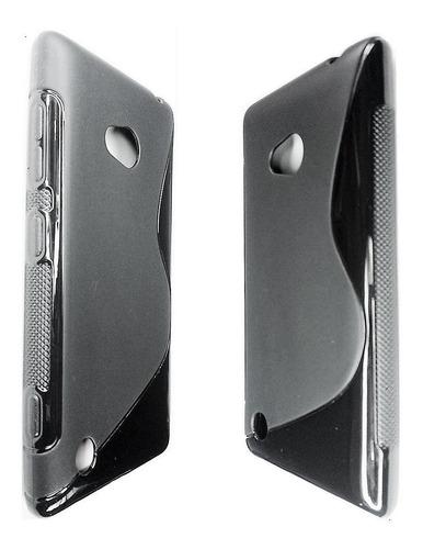 nokia lumia 720 forro tpu + lamina protectora lumia 720