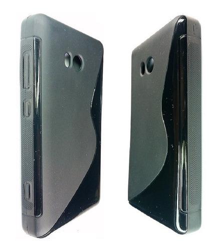 nokia lumia 810 forro tpu+ lamina protec nokia lumia 810