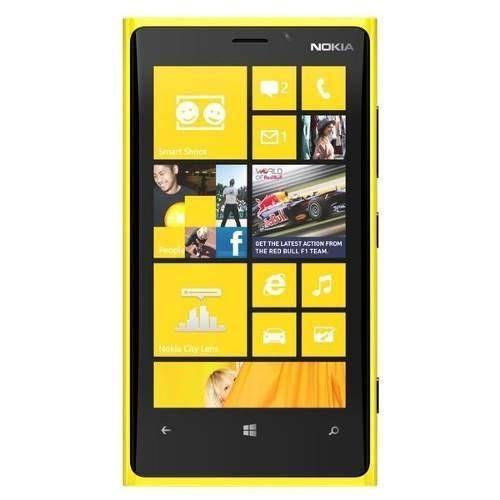 nokia lumia 920 8mp 32gb 4g wifi gps amarillo 1gb ram 3g lte