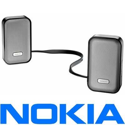 nokia md-7w parlantes bluetooth stereo p/ motorola en stock