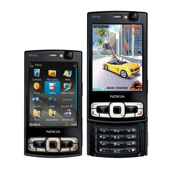 Negro Libre 3g Nokia Mapas N95 Nuevo Wifi 8gb Original Gps