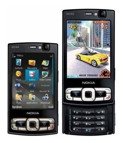 Negro Gps Mapas Wifi 8gb N95 Original Nokia Nuevo Libre 3g