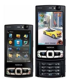 Libre Negro 3g Nuevo Wifi N95 Gps Nokia Mapas Original 8gb