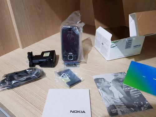 nokia slide 7230,3g,mp3,bluetooth,grafite,desbloq,anatel