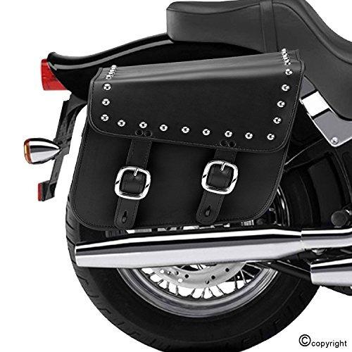 nomad ee uu piel tachas grandes motocicleta alforjas wheb