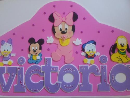 nombres con diseños para dormitorio de niños