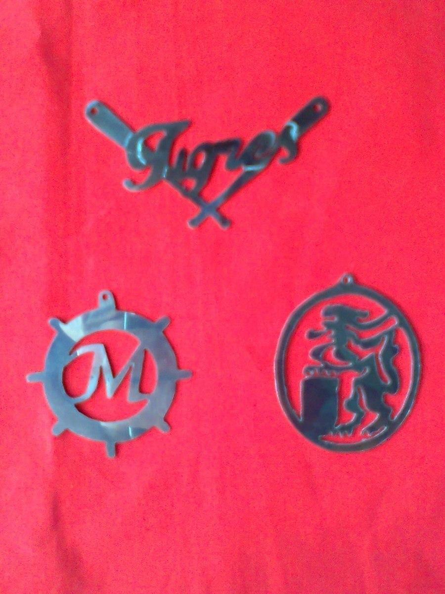 Nombres en acero inoxidable letras figuras y mucho mas - Figuras de acero inoxidable ...