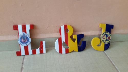 nombres letras mdf personalizados