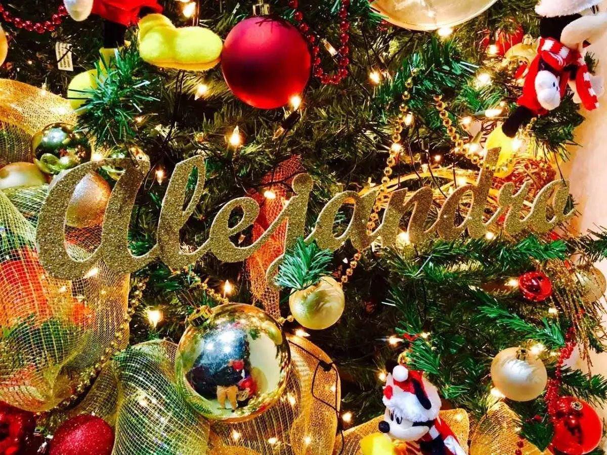 Nombres para adornar pino de navidad mesa de postres - Adornar mesa de navidad ...