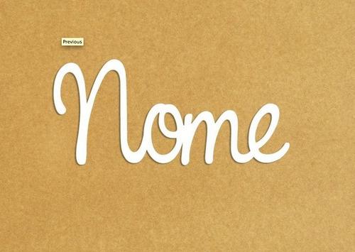 nome personalizado painel decoração quarto bebê -