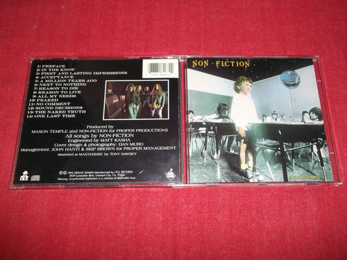 non fiction - in the know cd imp ed 1992 mdisk