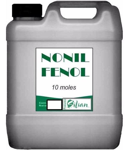 nonil fenol 10 moles emulsionante por 10 kilo