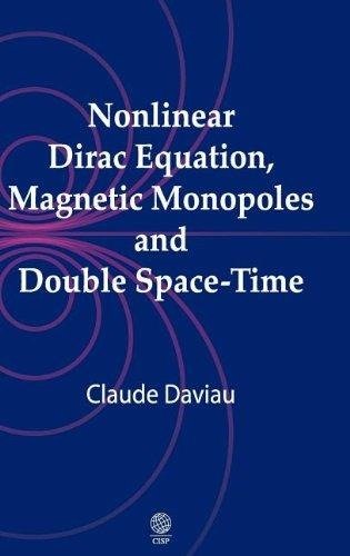 Nonlinear Dirac Equation, Magnetic Monopoles And