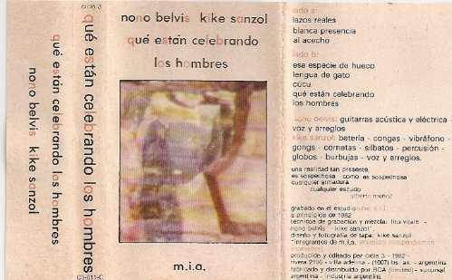 nono belvis - kike sanzol que estan celebrando los-cassette