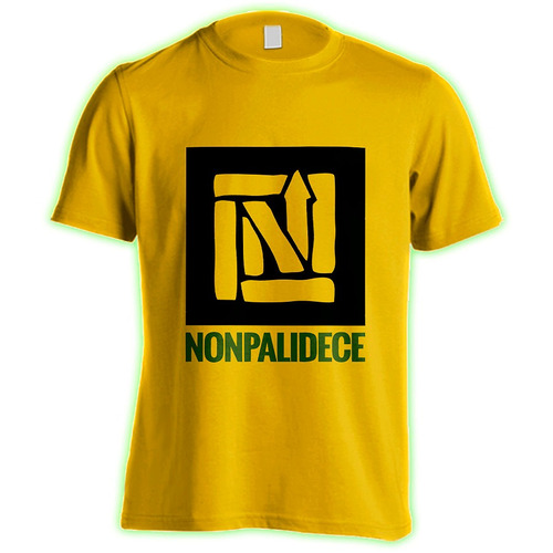 nonpalidece : remera premium + pin : logo box