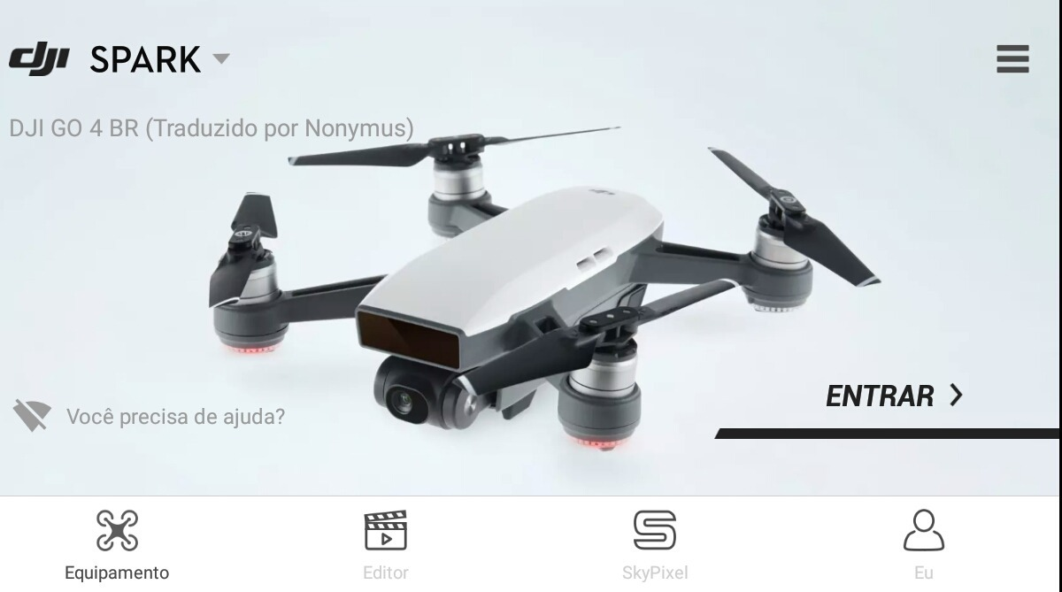 (nonymus)dji Go 4 Br 100% Portugues (android)