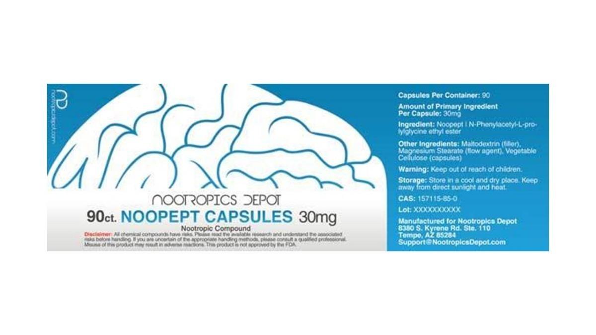Pramiracetam Noopept Capsules Adrafinil Memory Nootro Www