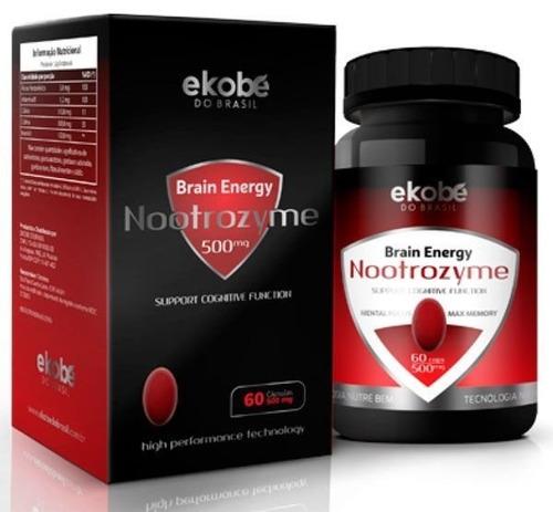nootrozyme brain energy nootropico memória colina inositol