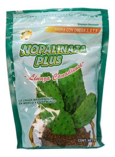 nopalinaza plus  linaza de canada en polvo 470gr