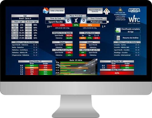 noplacar planilha + site de tips premium p/ trader esportivo