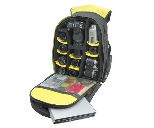 norazza ape mochila para cámaras fotografía video laptop