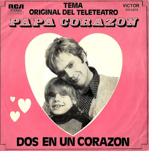 norberto suarez   tema de papa corazon  - 1973  - teleteatro